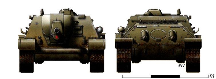 М-30 на шасси танка Т-34.